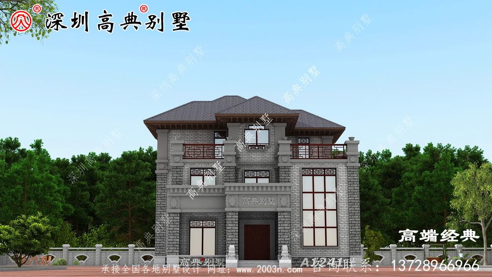 农村最美的房子,经济又实用,全国各地都在抢着建。