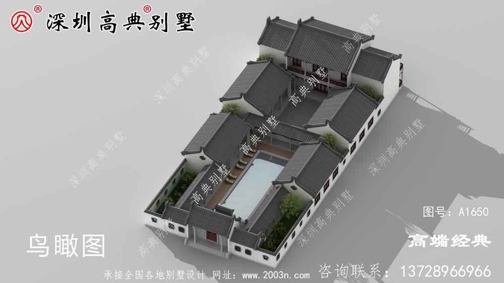 农村自建二层砖混结构小别墅,回家乡建一栋倍有面