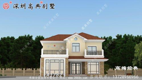 二层小洋楼别墅图片,温馨漂亮