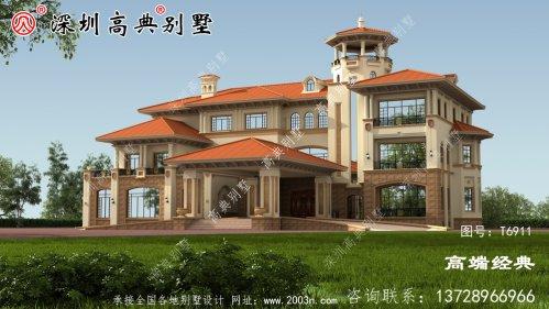 2020年三层豪华别墅图,精致典雅,看过之后搬砖