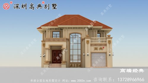 二楼农村的新别墅,这个建得很好,邻居们来参