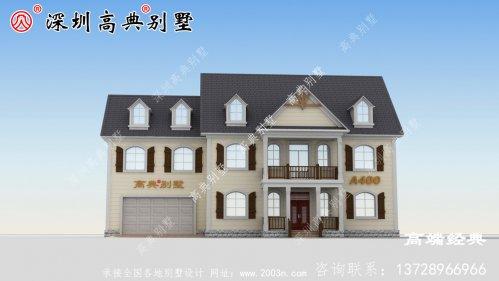 乡下一楼半的房子设计图,省钱舒适,可以给父