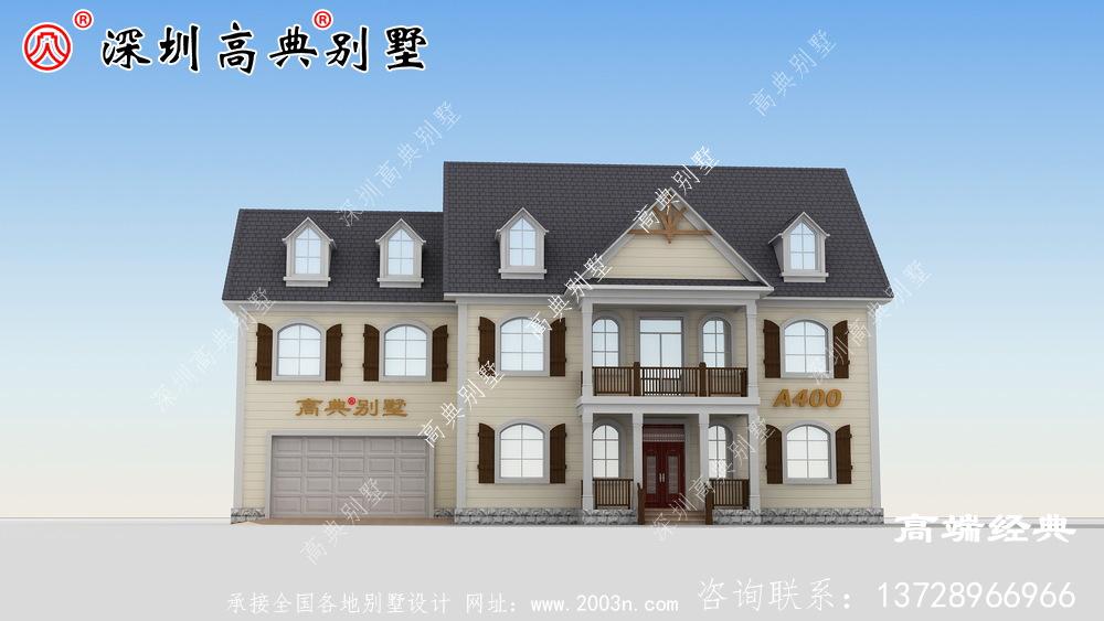 乡下一楼半的房子设计图,省钱舒适,可以给父母盖养老房。