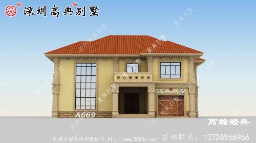 受欢迎的二楼复式别墅图纸,整个房子看起来更大