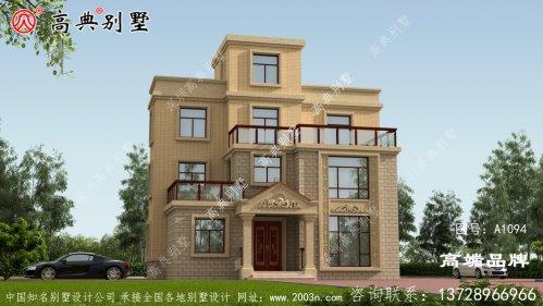 平屋顶别墅设计图,喜欢平屋顶的