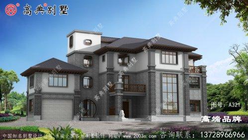农村建房户型众口难调,唯中式风格大家都喜欢