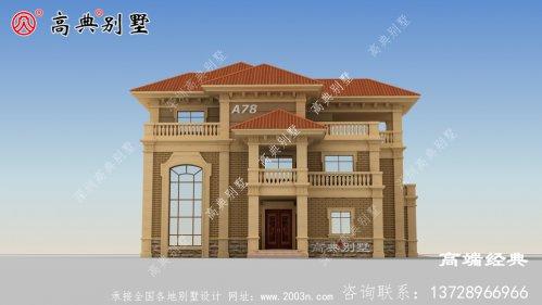 墙面颜色为淡色,适合乡村建设养老户型首选