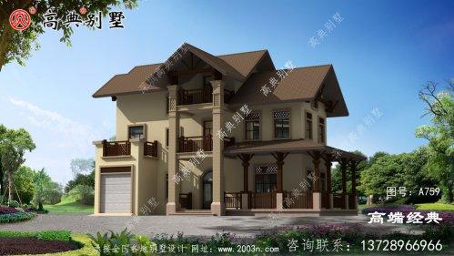 农村别墅风格各异都可根据自己的情况选择