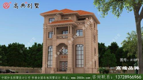 村长盖的新豪华欧式四层别墅,全村人都抢着要